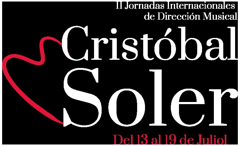 """II Jornadas Internacionales de Dirección Musical """"Cristóbal Soler"""""""